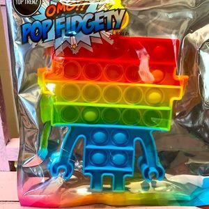 Robot Pop Fidgety Pop It's